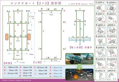 タイムボカンカート【初号機】設計図 和×夢 nagomu farm
