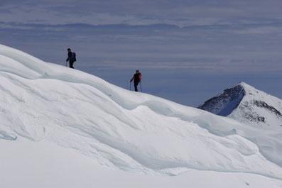 Skitour mit Bergführer in der Alpenregion Silvretta