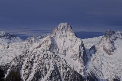Verschneite Winterlandschaft um Spitzmauer, Brotfall, Klinserschlucht. Region Pyhrn Priel, Hinterstoder, Oberösterreich, Totes Gebirge