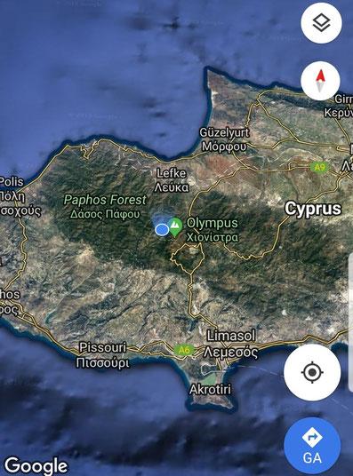Cyprus; Olympus; Travel