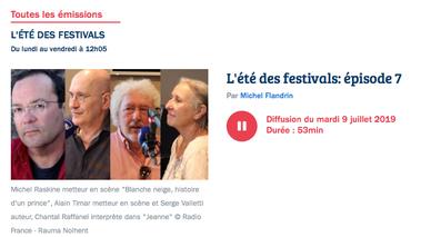 FRANCE BLEUE VAUCLUSE - MICHEL FLANDRIN
