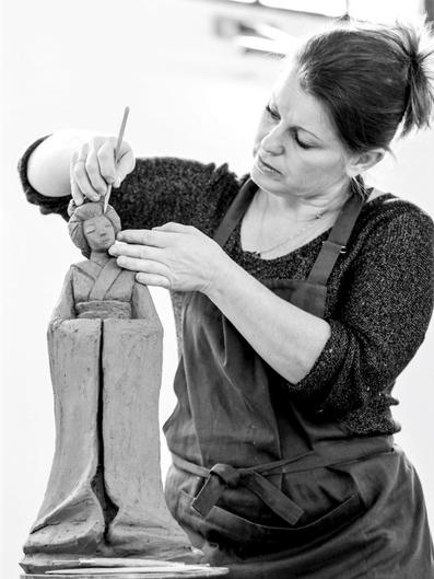 Karine DEVIGNE Artisan d'Art Céramiste