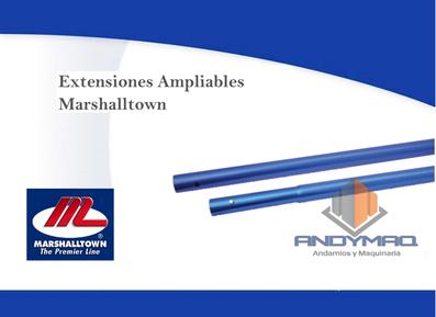 Extensiones Ampliables Marshalltown