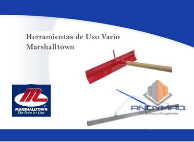 Herramientas de Uso Vario Marshalltown