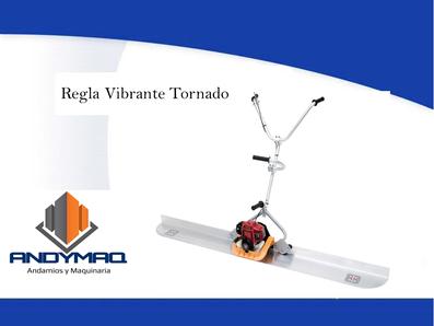 Regla Vibrante Tornado Enar