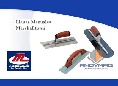 Llanas Manuales Marshalltown