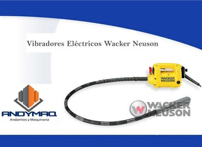 Vibración Wacker Neuson 1