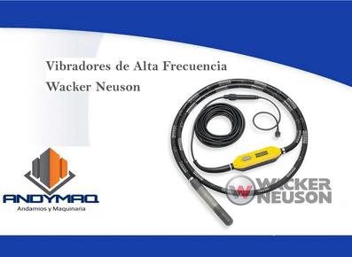 Vibración Wacker Neuson 2