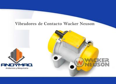 Vibración Wacker Neuson 3