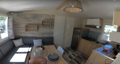 MOBIL HOME TRADITION CAMPING CROIX ST MARTIN AUVERGNE ALLIER VICHY HEBERGEMENT