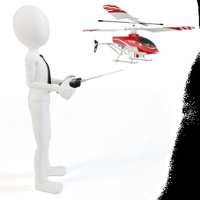 RC Helikopter Flugschule