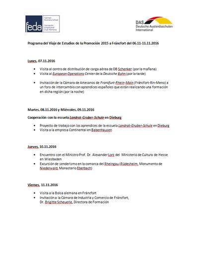 Programa Hesse 2016