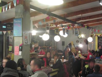 Déco restaurant de la microbrasserie  et bar à bières Archimalt