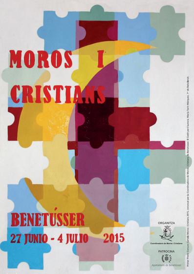 Cartel de Moros y Cristianos de Benetússer 2015