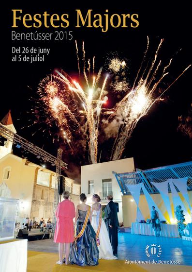 Cartel de les Festes Majors de Benetússer 2015