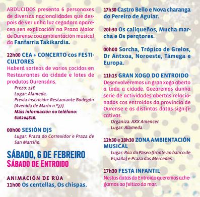 Entroido de Orense 2016 Carnaval