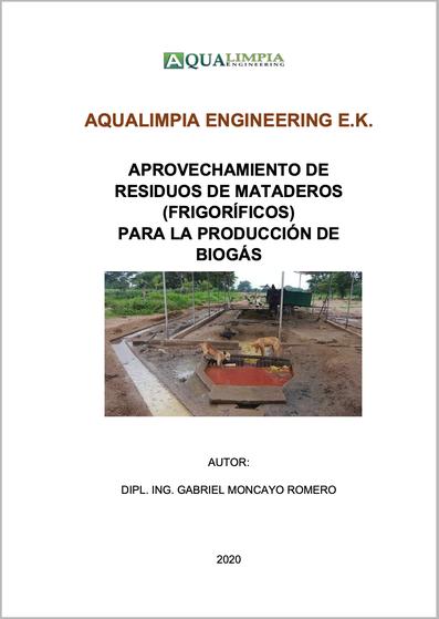 Residuos de mataderos, frigoríficos, producción de biogas, biodigestores