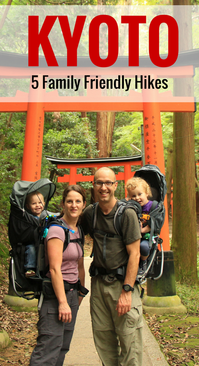 Kyoto - 5 Family Friendly Hikes - Read more at www.FamilyCanTravel.com