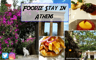 Foodie stay in Athens