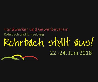 Logo Rohrbach stellt aus!