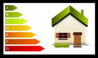 Grafik: Energiesparen mit einem Wärmedämm-Verbundsystem WDVS - ELKO GmbH, Eichstätt, Bayern / Quelle: OpenClipart-Vectors auf Pixabay