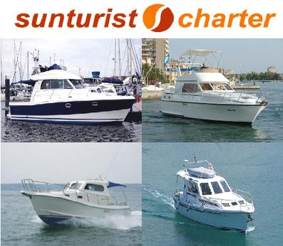 Yachtcharter Kroatien Sonderangebote Sunturist Motorboote Motoryachten Zadar Marina Tankerkomerc