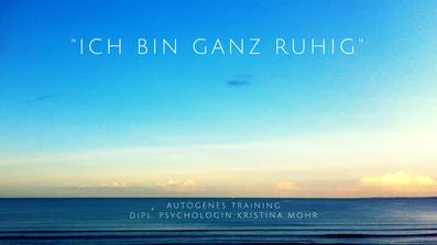 3 Minuten Entspannung Kristina Mohr Hamburg Blankenese