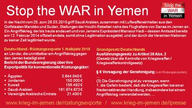 Kriegswaffenkontrollgesetz Artikel 6 - https://www.krieg-im-jemen.de/rüstungsexporte