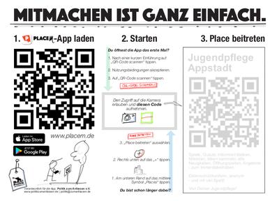 PlaceM PLACEm digitale Beteiligungs-App Jugendbeteiligung Politische Bildung Mitmach App