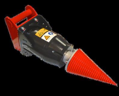 Kegelspalter Black Splitter S1 / Holzspalter / Spalter / Baggerzubehör / Bagger