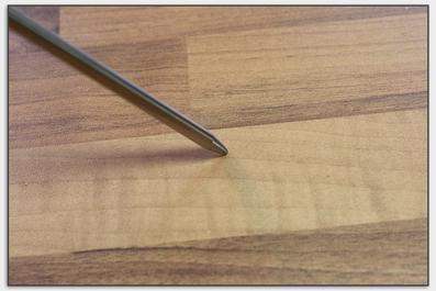 Der Stachel für unedle Bühnenböden oder Podeste