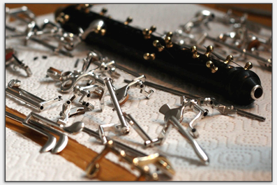 Oboe entsteht