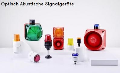 optisch akustische Signalgeräte Auer