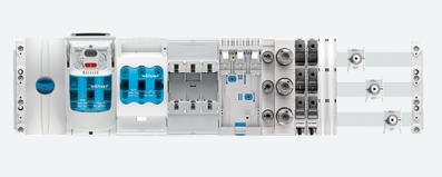 Sammelschienensystem 60mm Stromschienen Wöhner