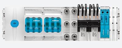 Sammelschienensystem 30mm compact wöhner
