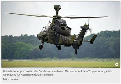 16.04.2020 - mdr: Truppenübungsplatz Oberlausitz: Bundeswehr nimmt Übungsbetrieb wieder auf