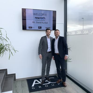 Bosch Rexroth AG | David Kunkel at ABC HQ