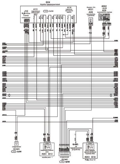 MITSUBISHI CANTER Truck Wiring Diagrams - Car Electrical Wiring Diagram