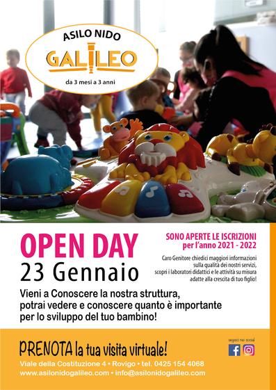 Openday Asilo Galileo Rovigo