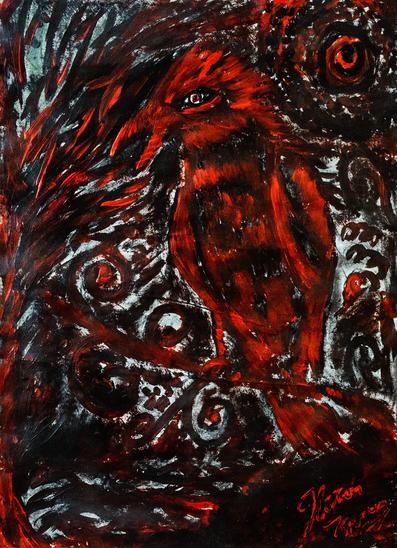 Der Feuer Phoenix