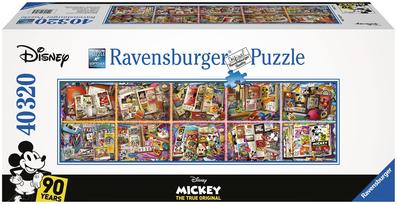 puzzle ravensburger disney 90 ans 40320 pièces: univers emylila