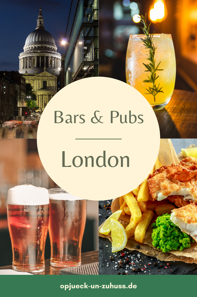 best bars and pubs in London