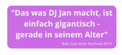bester DJ in Göttingen, guter DJ für Hochzeiten