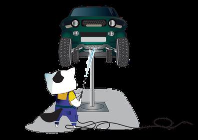 Motor- und Unterbodenwäsche / MFK Vorbereitung / MFK Bereitstellung / Chassiewäsche