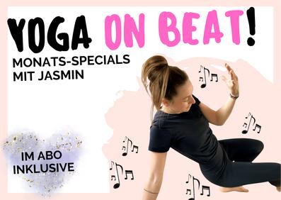 Yoga on beat Tanzen