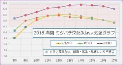2018梅園地 満開期交配3days