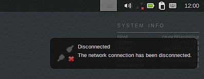 ネットワーク未接続