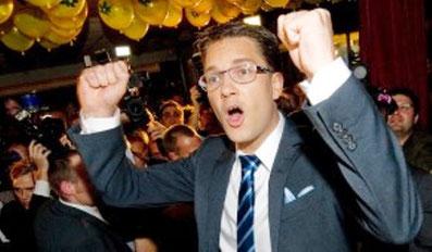 Sverigesdemokraternas formand  Jimmie Åkesson