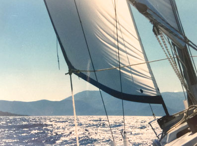 My sailing trip - Ionian sea 1995