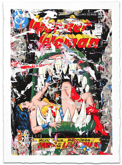 Mr Brainwash Wonder Woman